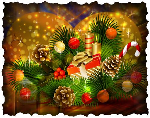 Fond de Noel