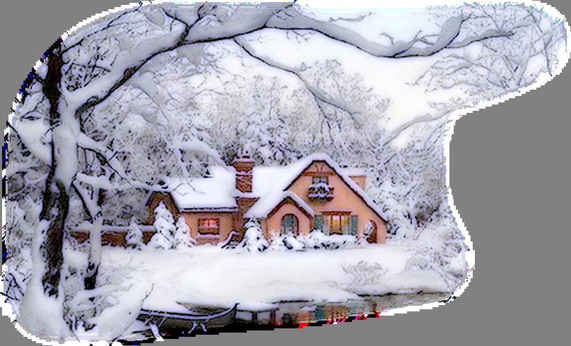 Tubes maisons hiver page 3 for Art maison la thuile